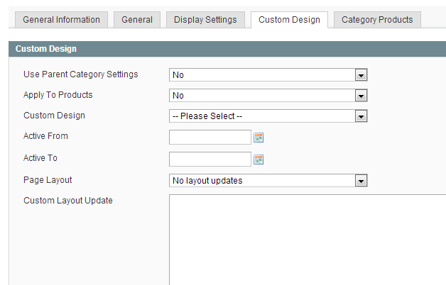 Magento Custom Category Page Template Dev Notes
